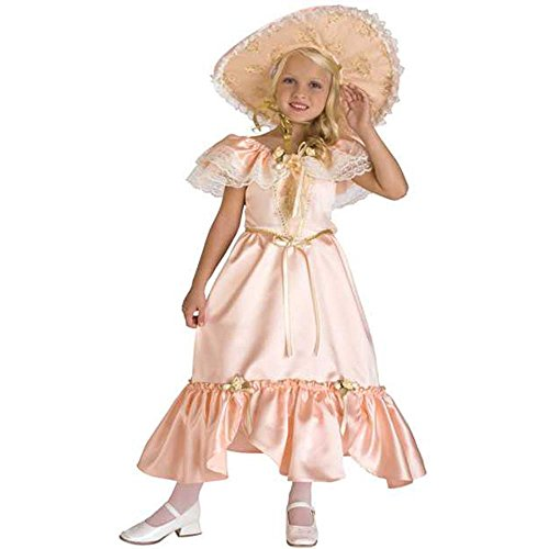 Kid's Southern Bell Costume (Size:Medium 8-10)