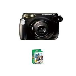 Fuji Fujifilm Instax 210 Instant Film Camera + 20 Prints - 1 Twin Pack of Film