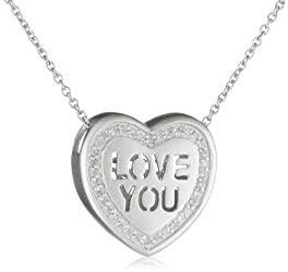 Gold Box Deal of the Day: Up to 60% Off Heart Pendants with FREE One-Day Shipping