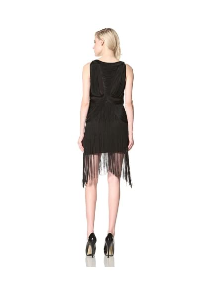 Sheri Bodell Women's Fringe Flapper Dress
