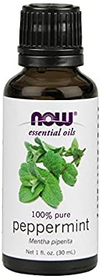 NOW Foods Peppermint Oil, 1 ounce , Pack of 4