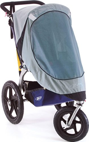 BOB Sun Shield for Single Revolution/Stroller Strides Models, Gray