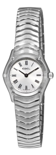 Ebel Women's 9003F11/6125 Classic Silver Roman Numeral Dial Watch