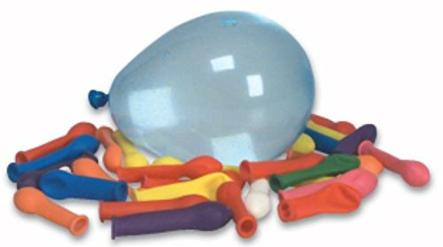 Mylife (Tm) Multi Colored - Flexible Latex Rubber (100 Count Pack - Standard Size) Water Bomb Grenade Balloons (Amazing For Warm Weather)