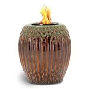 Amazon.com - Decoración acanalado Porcelana Llama Pot, 5 pulgadas por