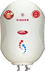 Singer Vesta 2000-Watt Storage Water Heater 15 Litre