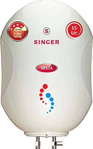 Singer Vesta 2000-Watt Storage Water Heater 15 Litre