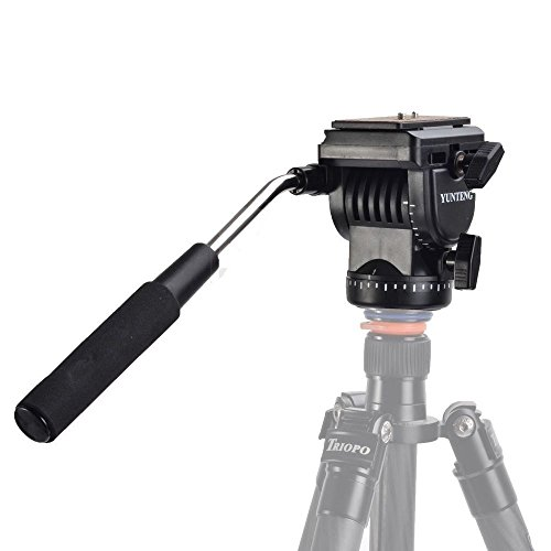 Pro-YT-950-Tripod-Action-Fluid-Drag-Head-Video-Camera-For-DSLR-Shooting-Filming