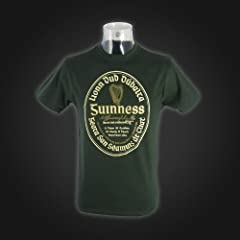 Guinness Green Irish Label Tee