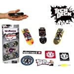 Tech Deck 96mm 3 Pack & Stickers Rand...