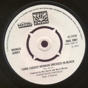 Mungo jerry - Long Legged Woman - Zortam Music