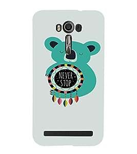 EPICCASE Cute Panda Mobile Back Case Cover For Asus Zenfone Go (Designer Case)