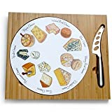 Cheese Board Gourmet Gift Baskets Food Gifts Cheeseboard Set with Cheese Knife