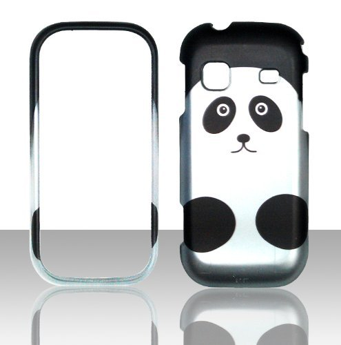 2D Panda Design Samsung Gravity TXT T379 T-Mobile Case Cover Hard Phone Case Snap-on Cover Rubberized Touch Protector Faceplates (Samsung Gravity Txt T379 compare prices)