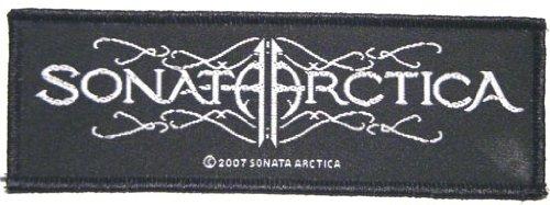 SONATA ARCTICA UNIA in gomma con LOGO 11,5 x 4 cm