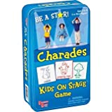Kids on Stage Charades Game Travel Tin