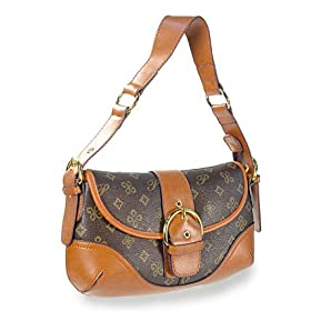 Louis Vuitton Inspired Buckle Hobo