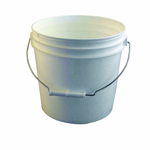 Bon 84-715 2-Gallon Reinforced White Plastic Bucket