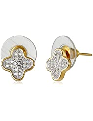 Sia Art Jewellery Stud Earrings For Women (Golden) (AZ2603)