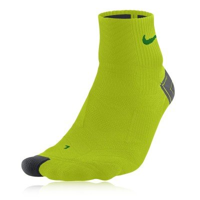 Nike Elite Run Cushion Quarter Running Socks