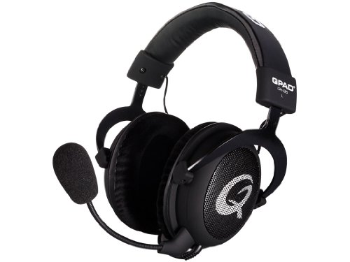 QPAD QH-85 Pro Gaming Headset with Open Ear Cups Design Black Friday & Cyber Monday 2014