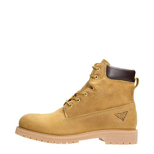 DOCKSTEPS DSE101196 OILED LEATHER GIALLO (42)