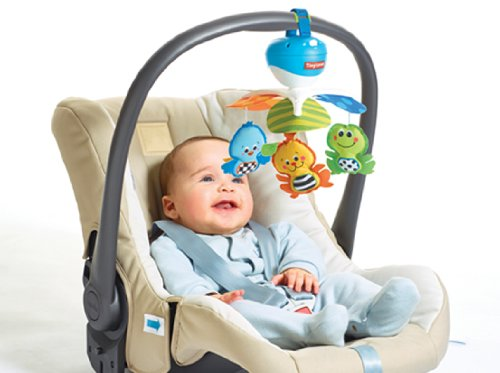 tiny mobiles love take along baby kid animal play infant car seat stroller music ebay. Black Bedroom Furniture Sets. Home Design Ideas