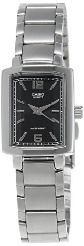 Casio Enticer Analog Black Dial Women's Watch - LTP-1233D-1ADF (SH47)  available at amazon for Rs.2195