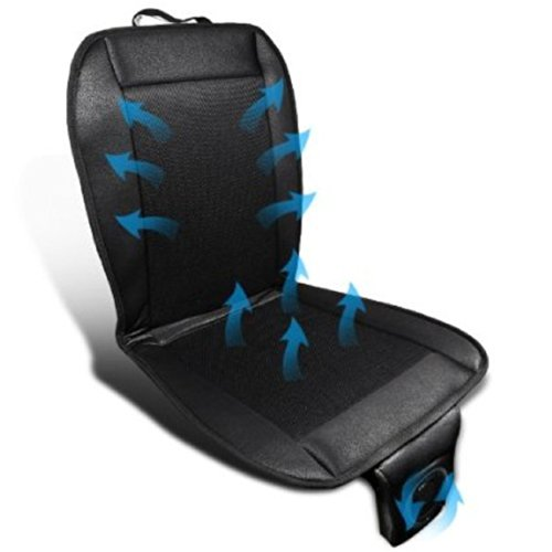 Car Truck Cooling 12V Electric Fan Car Seat Cold Air Channel Cover Cushion