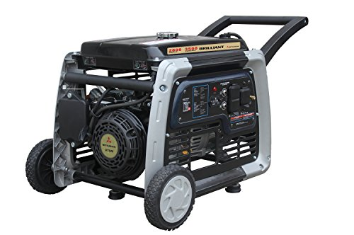 Brilliant Powered By Mitsubishi MBG2902 2800W Gas Generator