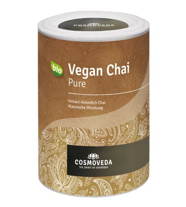 COSMOVEDA-Vegan-Chai-Pure-200g-bio-vegan-Instant-Chai-Tee-mit-Reismilchpulver