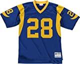 St. Louis Rams Mitchell & Ness 1999 Marshall Faulk #28Replica Throwback Jersey