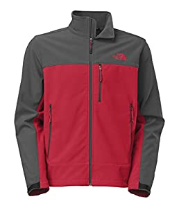 The North Face Mens Apex Bionic Jacket Tnf Red/asphalt Grey (Medium) from The North Face