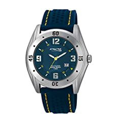 buy Q And Q Attractive Analog Blue Dial With Date Men'S Watch Ion-Plated