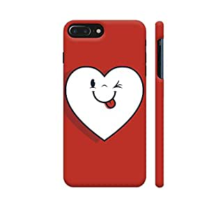 Colorpur Winking Heart Designer Mobile Phone Case Back Cover For Apple iPhone 7 plus