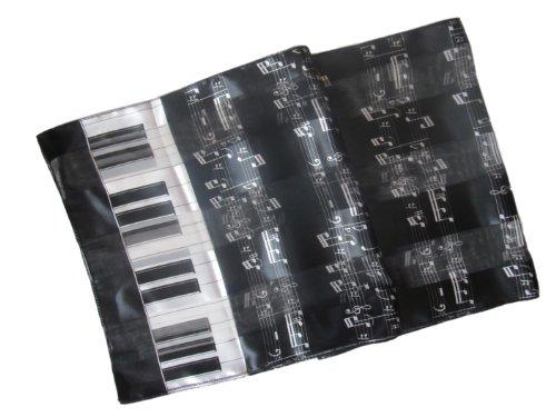 Stripe Musical Instrument Scarf/Sash/Belt