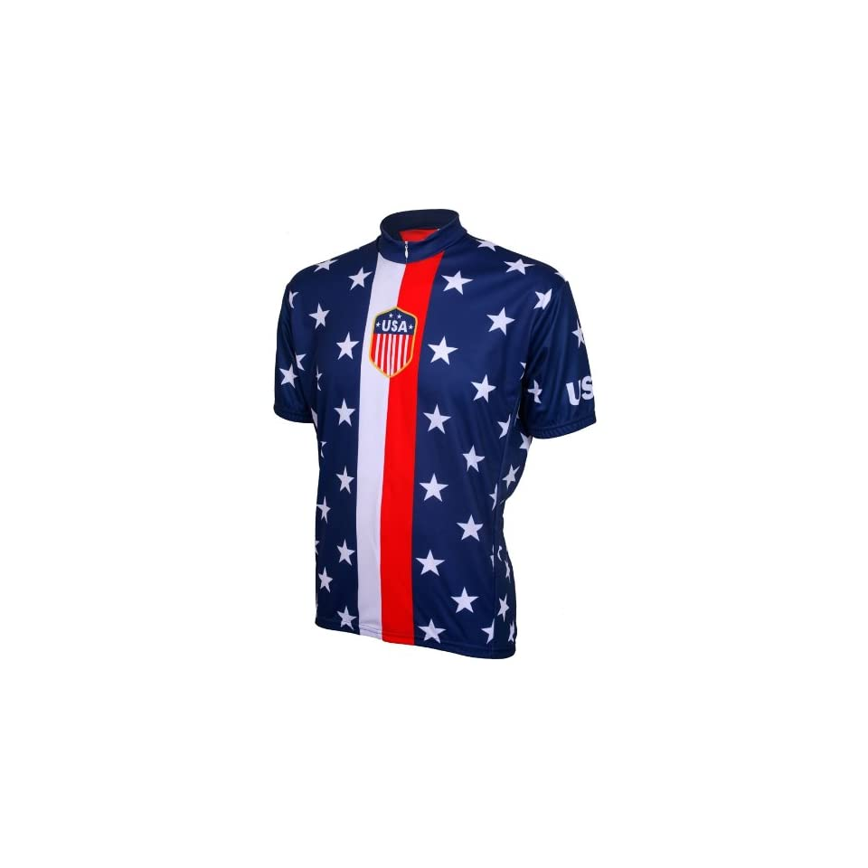 Retro 1956 USA Mens Cycling Jersey Bike Bicycle on PopScreen f6d54daac