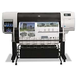 """Designjet T7100 42"""" 2400 x 1200 dpi 1327.2 ft/h 6 Color Floor Standing Large Format Printer"""