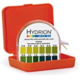 Micro Essential Lab MF-1606 Hydrion Microfine Short Range pH Test Paper Dispenser, 5.5 - 8.0 pH, Double Roll