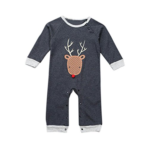 [FEITONG Newborn Infant Baby Boy's Romper Bodysuit Clothes Outfits (18 Months)] (Baby Designer Clothes)