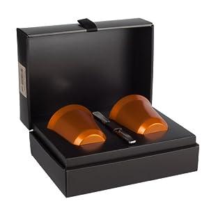 nespresso pixie linizio 2 tasses en acier cuisine maison. Black Bedroom Furniture Sets. Home Design Ideas