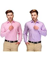 Koolpals Combo Of 2 Cotton Shirts - B017FK1QJ6