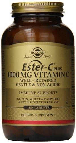 Solgar Ester-C Plus 1000 mg Vitamin C Tablets - 180 tablets