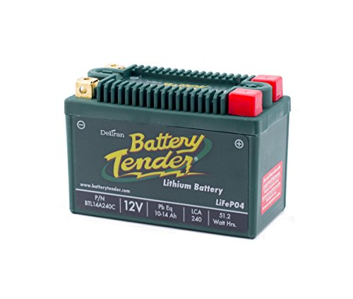 Battery Tender BTL14A240C Lithium Iron Phosphate Battery (Honda Foreman 500 Battery compare prices)
