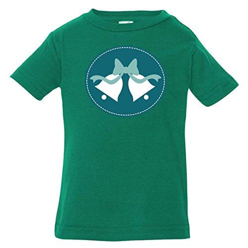 Inktastic Baby Boys' Teal Wedding Bells Baby T-Shirt 24 Months Kelly Green