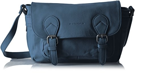 Sabrina Nicky, Borsa a tracolla donna , Blu (Blu (Denim)), Taille Unique