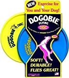 Aerobie Dogobie Squidgie Flying Disc - RANDOM COLOUR