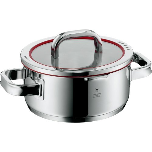 LACOR Chef Luxe Round Dish Without Lid 36 cm Silver Stainless Steel