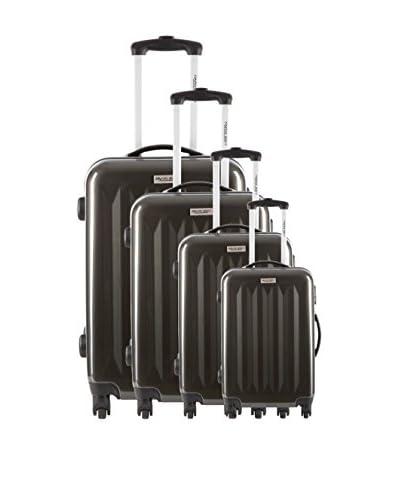 Travelone Set de 4 trolleys rígidos Doron