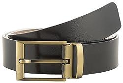 Jackblack Men's Leather Belt (SEVP023, Black, 36)
